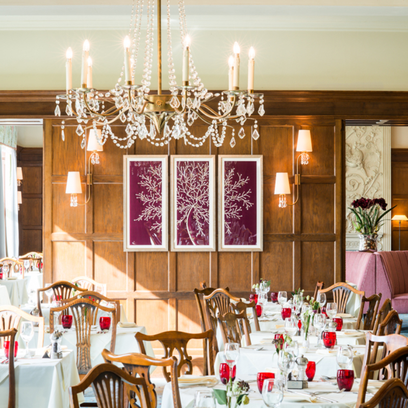 Ragdale Hall Dining Room