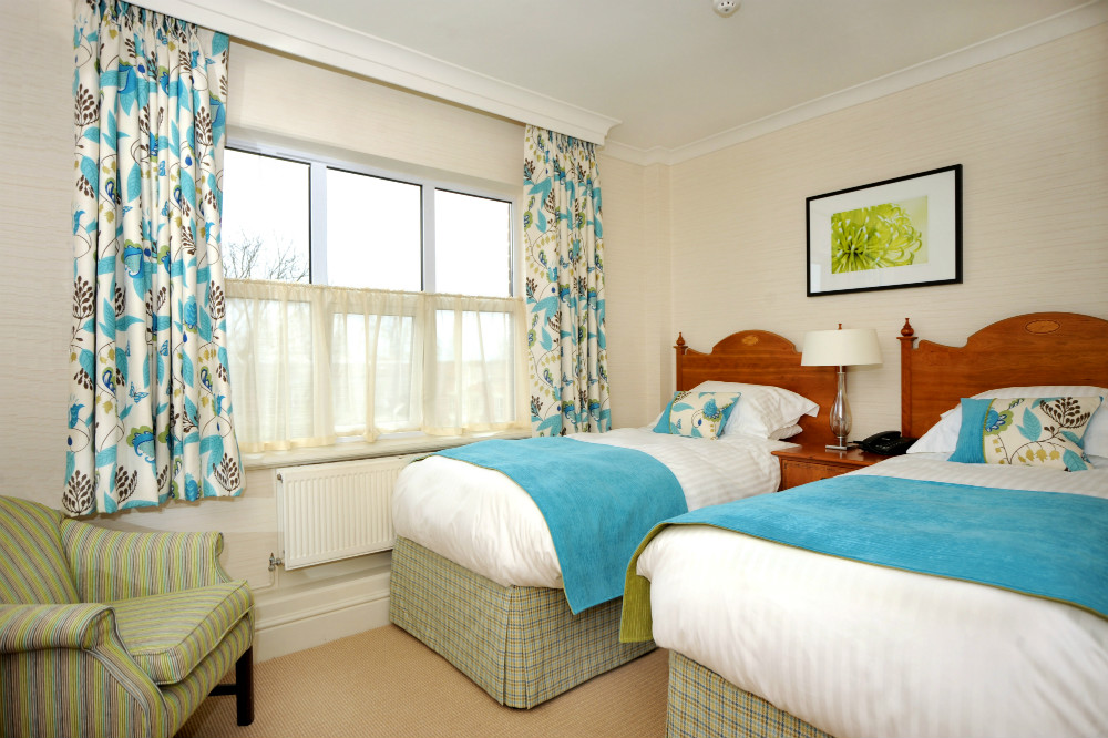 Economy Twin Bedroom at Ragdale Hall