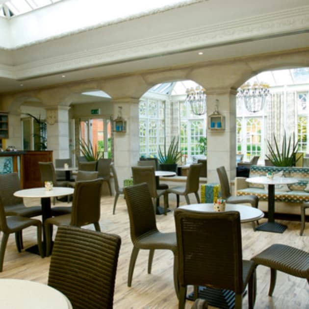 Garden Room Bar at Ragdale Hall