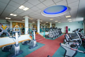 Ragdale Hall Gym Cardio Equipment that is used during fitnes breaks