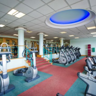 Ragdale Hall Gym Cardio Equipment that is used during fitness breaks