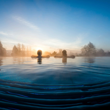 Ragdale Hall Rooftop Infinity Pool