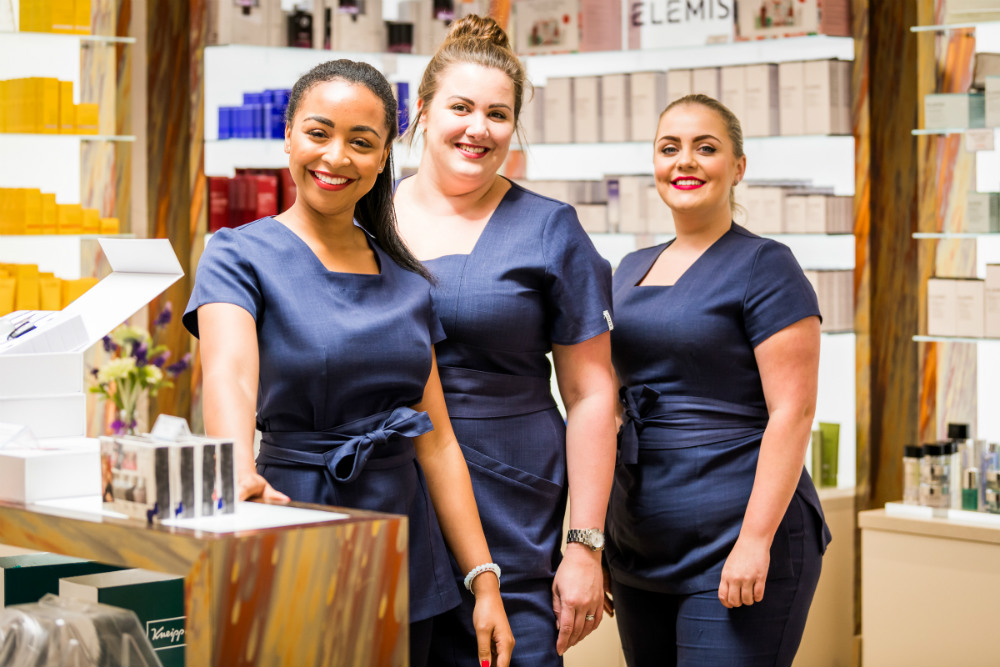 Skincare specialists at Ragdale Hall