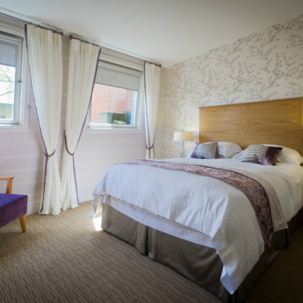 Standard Plus Bedroom with double bed at ragdale hall