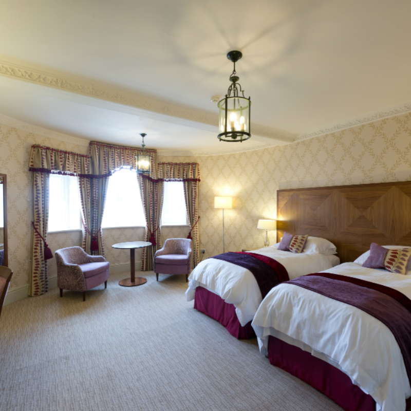 Luxury Plus Bedroom at Ragdale hall spa hotel