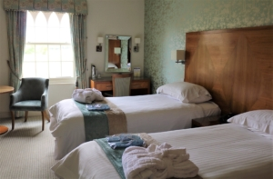Ragdale Hall Lodge Bedroom