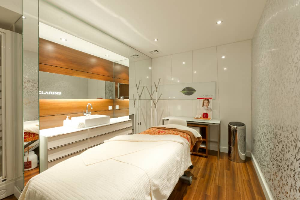 Clarins Treatment Room at Ragdale Hall Spa