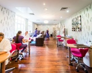 Manicure and Pedicure Room at Ragdale Hall Spa
