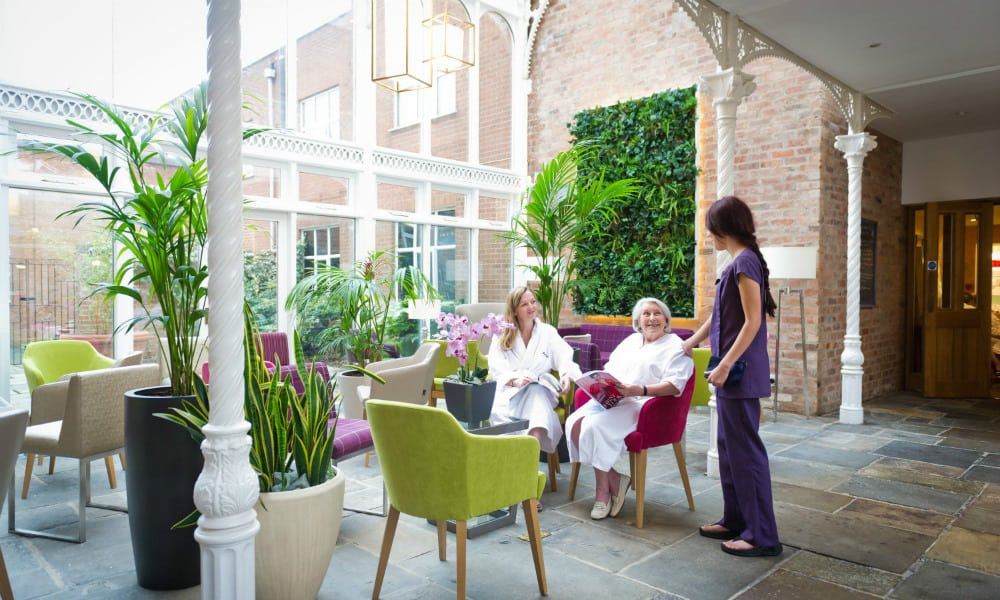 The Atrium at Ragdale Hall Spa