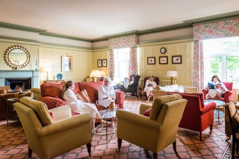 The Lounge at Ragdale Hall Spa
