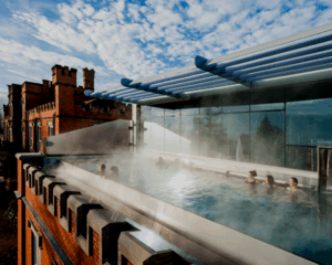 Ragdale Hall Spa Rooftop Infinity Pool