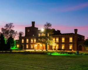 Twilight view of Ragdale Hall