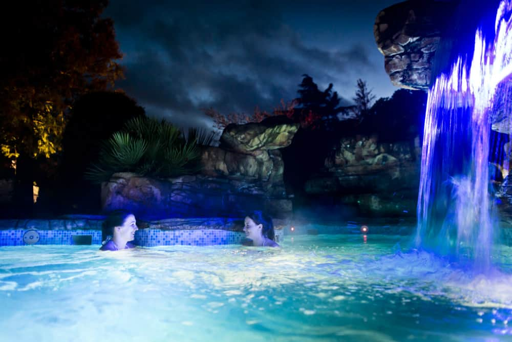 Waterfall Pool in the Evening