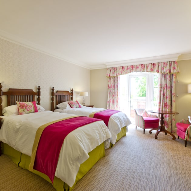Luxury Bedroom at Ragdale Hall