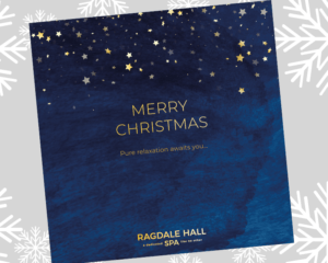 Ragdale Hall Christmas voucher pack