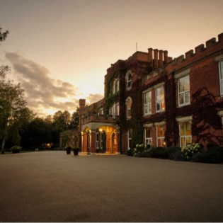Evening time at Ragdale Hall Spa