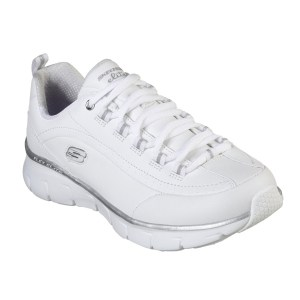 Skecher Synergy White Trainers