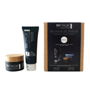 Spa Find Crystallage Pro-Ageing Spa Skincare Weekly Set