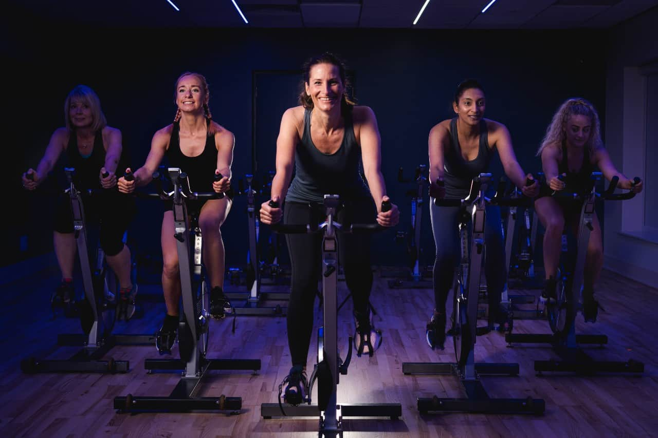 Heart + Soul Fitness Apex Cycle Class